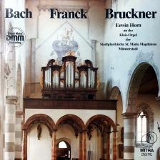 September, 2017: Organ Transcriptions of Bruckner's Symphonies / Erwin Horn