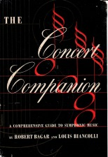 Biancolli, Louis: The Concert Companion - Bruckner pages