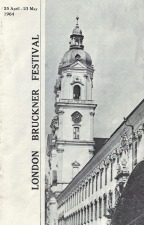 Fairfax, Bryan: The 1964 London Bruckner Festival Booklet