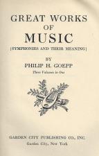 Goepp, Philip H.: Essay on Bruckner