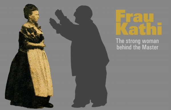 Houle, Gilles: Frau Kathi, The Strong Woman behind the Master