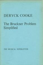 Cooke, Deryck: The Bruckner Problem Simplified (1975)