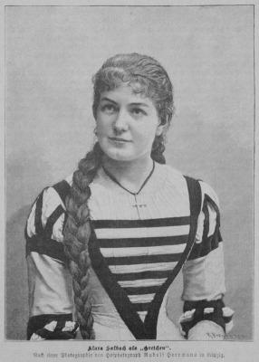 Houle, Gilles: Clara Salbach and Anton Bruckner
