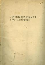 Westarp, Alfred: Anton Bruckner: Fifth Symphony