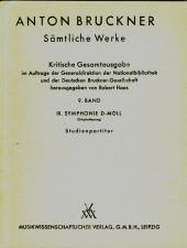 Orel, Alfred: Die Vorlage (Einfuerhrung) Sinfonie Nr. 9