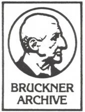 Bruckner Archive
