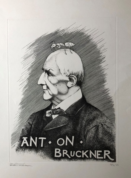 Archive acquires Furnival / Williams Ant-On Bruckner Lithographic Print