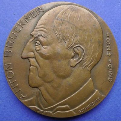 Archive acquires George Thurotte bronze Bruckner medallion