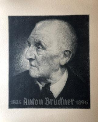 Bruckner Archive acquires Karl Borschke 1940 lithograph