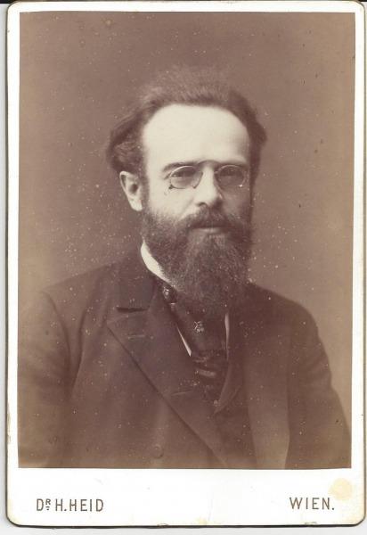 Bruckner Archive acquires a signed photograph of Josef Schalk