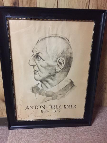 The Bruckner Archive acquires an old Bruckner print