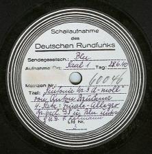 The Bruckner Archive Recordings Database