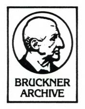 The Bruckner Archive Recording Acquisition Procedure