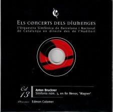 December, 2016: Symphony No. 3 / Edmon Colomer / Barcelona Symphony Orchestra