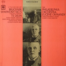 January, 2012: Te Deum: Eugene Ormandy / Philadelphia Orchestra / Columbia