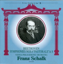 October, 2012: Franz Schalk conducts the Vienna Philharmonic