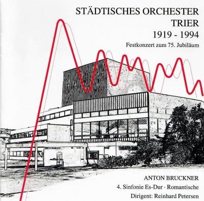 September, 2018: Symphony No. 4 / Staedtisches Orchestrer Trier / Reinhard Petersen