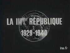 The Third Republic - 1929-1940  (1970)