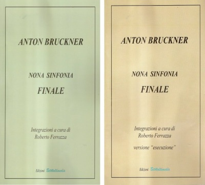 A new performing version of the Bruckner Ninth Finale has been published