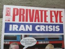 """Bruckner mentioned in UK's """"Private Eye"""" Magazine"""