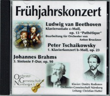 Bruckner's orchestration of Beethoven's Pathetique Piano Sonata is now available as a CD or a Download