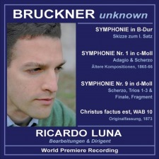 """Ricardo Luna prepares his second """"Unknown Bruckner"""" CD"""