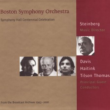 Symphony No. 8: Steinberg / Boston Symphony - Available for download
