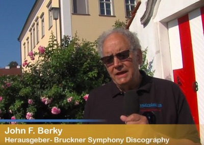 A television interview during our visit to Ansfelden