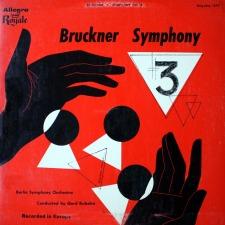 The Gerd Rubahn Bruckner Third - a 59 Year Old Mystery Solved