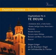 """Enjott Schneider: Organ Sinfonie No. 6 """"Te Deum"""""""