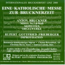 Rupert Frieberger: Improvisation on a Bruckner Theme