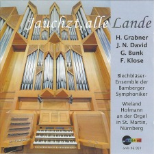 Friedrich Klose: Prelude and Double Fugue for Organ and Winds