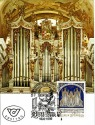 POSTCARD: Bruckner Organ / First Day Cover with stamp