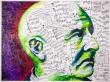 """Dry-Mounted Bruckner Graphic: """"Music On His Mind"""", by Lisa Elle Anders."""