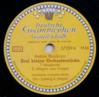 The Ludwig K. Mayer Bruckner Recordings